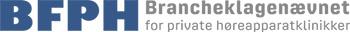 Brancheklagenævnet for private høreapparatklinikker Logo
